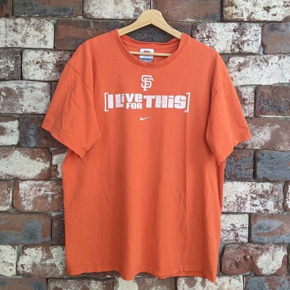 Nike San Francisco Giants baseball t-shirt